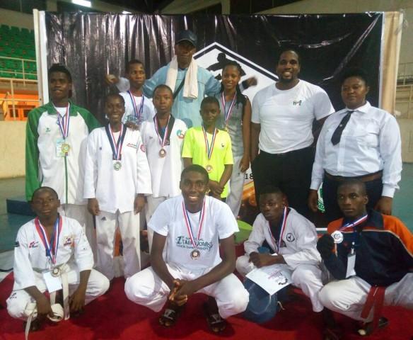 Taekwondo: Delta, Champions of National Junior Ch'ship