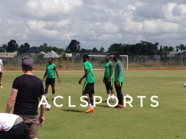 Ndidi trains alone as Eagles begin World Cup training
