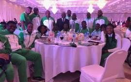 Home based athletes regret attending Presidential Reception