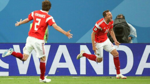 Russia 2018: Hosts condemn Egypt to another loss