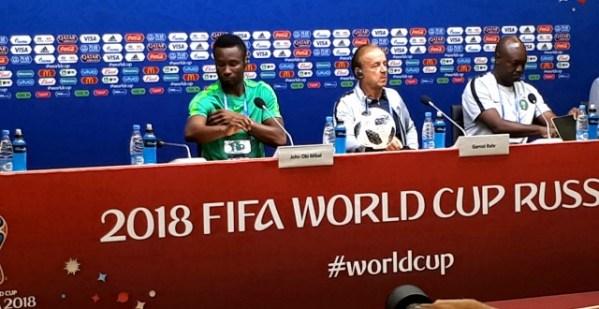 Rohr: Friendly defeats help calm Nigerian expectations