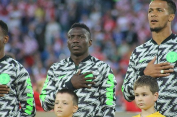Russia 2018: Eagles arrive St Petersburg for Argentina