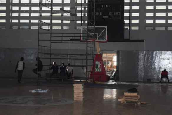 2019 FIBA WCQ: Sports Hall wears new look for D'Tigers