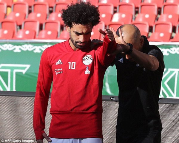 Russia 2018: Salah fit to feature against Uruguay