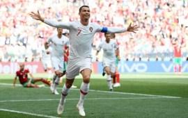 Ronaldo's header ends Morocco's World Cup campaign