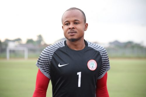 CHAN2020: Ezenwa spotted at Super Eagles B training for Togo