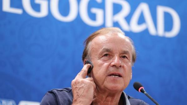 Pinnick: Gernot Rohr will not be sacked