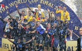 Reactions as Les Bleus emerge World Champions
