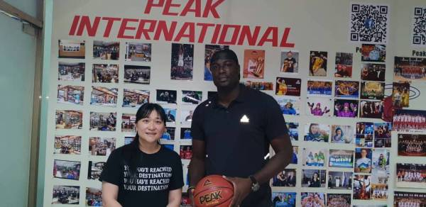 Oyedeji becomes first PEAK Sports Ambassador in Africa