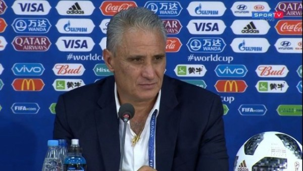 Russia 2018: Tite banks on mental stability against Belgium