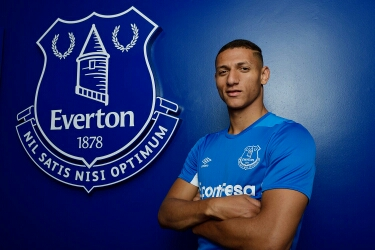 Premier League: Richarlison completes Everton move
