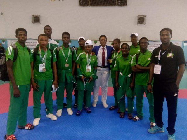 Binga promises to invest more in young Taekwondo athletes