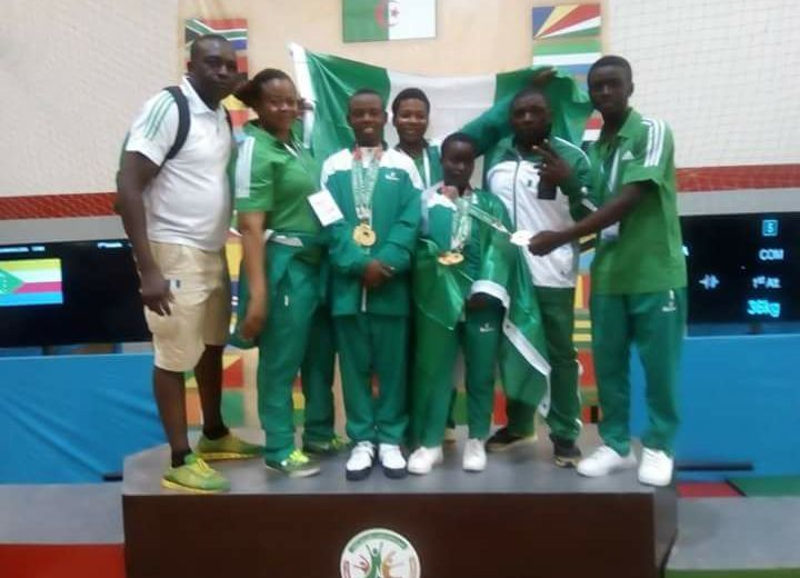 Nigeria wins 6 gold Medals at the Africa Youth Games