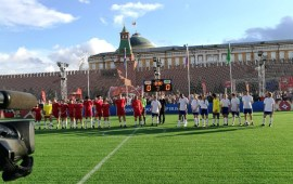 Russia 2018: Salgado, Baptista on target in novelty match