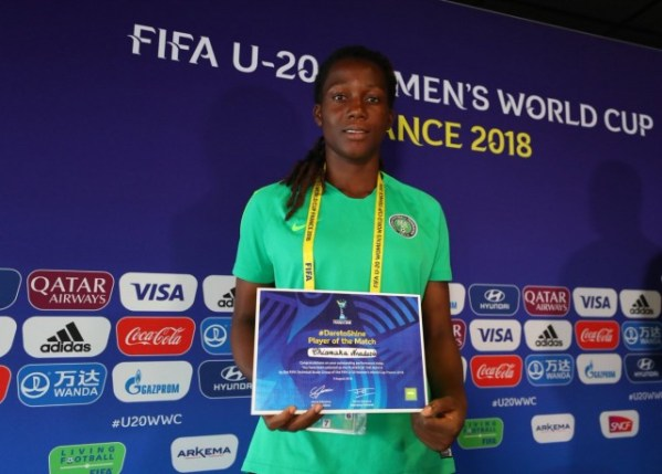 U20WWC: Falconets revive campaign with Haiti win