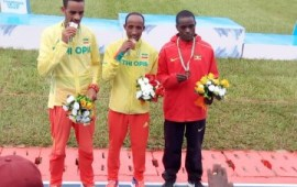 Asaba 2018: Ethiopia Jemal Mekonnen grabs first medal