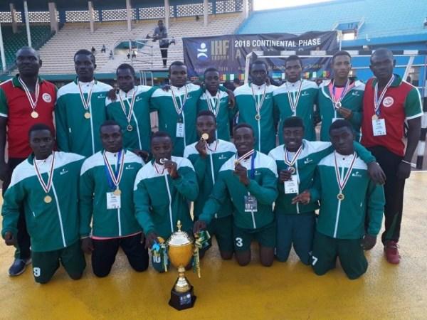 Handball: Nigeria U18 and U20 win IHF Challenge Trophy