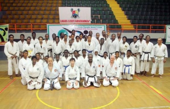 Karate: Registration for Zianab Saleh Female Ch'shps opens