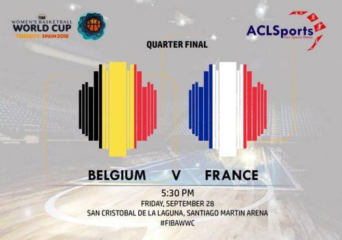 2018 FIBAWWC Preview: Belgium Vs France