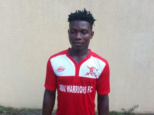 Abia Warriors 'super sub' Okoro eyes victory over Rivers United