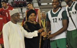 Nwaachukwu dedicates best blocker award to team mates