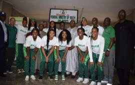 Federal Government organise send forth party for D'Tigress