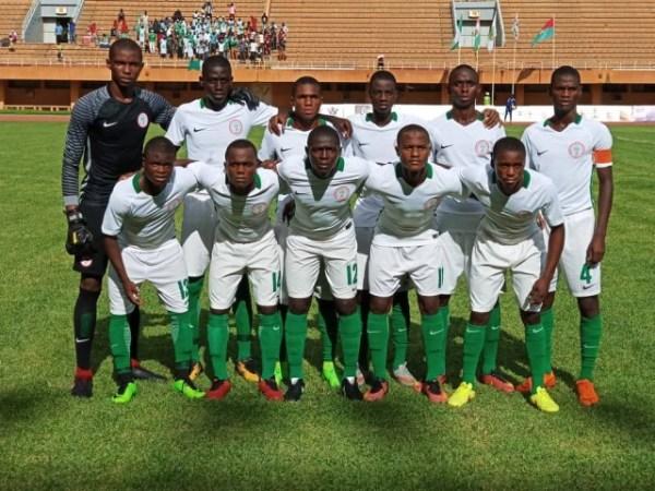 U17 AFCON: Golden Eaglets face Niger in semi final