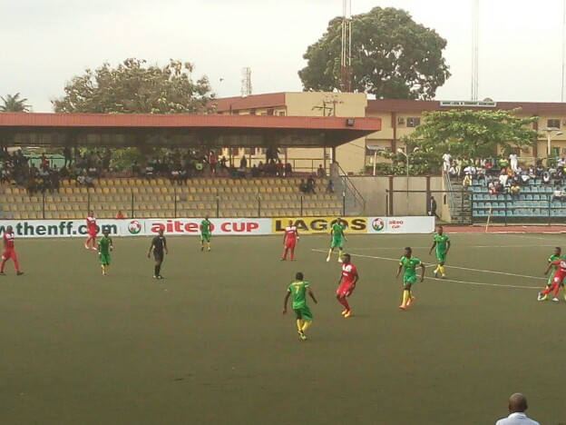 Aiteo Cup: Alebiosu's hat trick helps Kwara see off Warriors