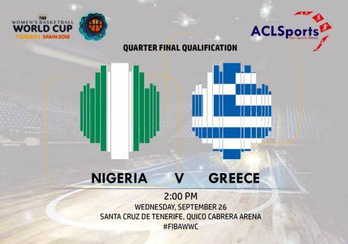 2018 FIBAWWC Preview: (Africa Focus) Nigeria Vs Greece