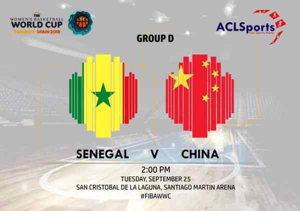 FIBAWWC Preview: Senegal Lionesses on the prowl Vs China