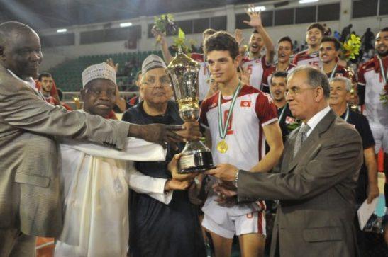 Tunisia volleyball team win African U21 championships in Abuja