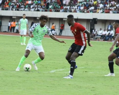 AFCON2019Q: Alex Iwobi delivers a performance of hope