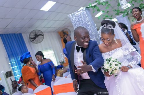 Hearty congratulations to Mr Ekine and Mrs Queen Moseph