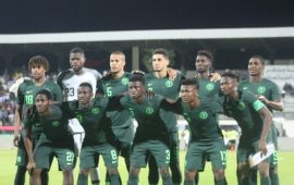 FIFA/Coca Cola Ranking: Nigeria drop to fourth in Africa