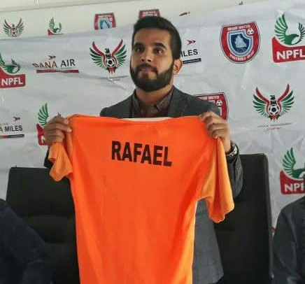 NPFL: Akwa United unveil Rafael Everton as manager