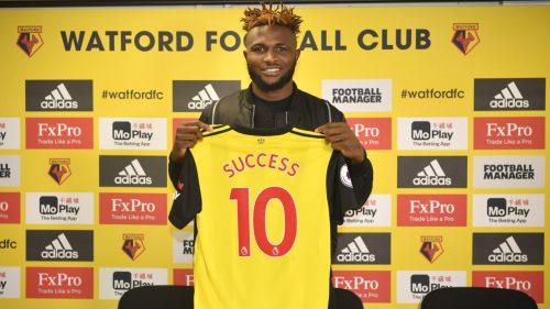 Premier League: Isaac Success commits future to Watford