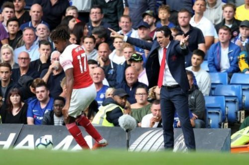 Super Eagles' star Alex Iwobi thriving under Emery's tutelage at Arsenal