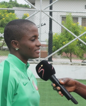 AWCON 2018: Ajibade ready to play her heart out