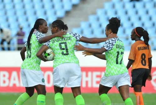 AWCON 2018: Oparanozie feeling good after Zambia goal