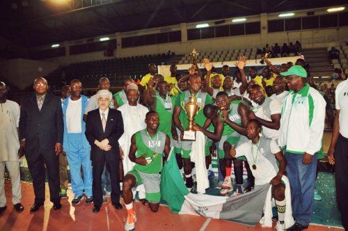 Nigeria Customs are volleyball premier league champions