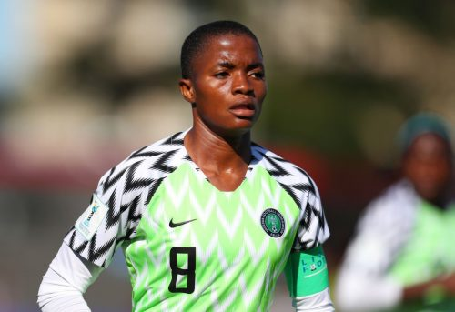 Football: Rasheedat Ajibade grateful for fantastic year