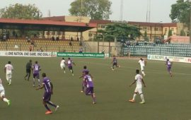Adeniji on target again as MFM down 10-man Rangers
