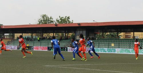 NWFL Super 4: Nasarawa Amazons set up Bayelsa Queens clash