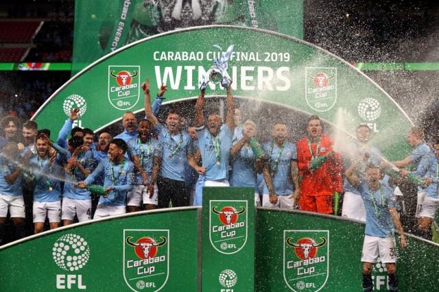 Pep Guardiola happy as Man City retain Carabao Cup