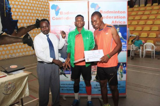 Opeyori, Olofua win doubles at Uganda International