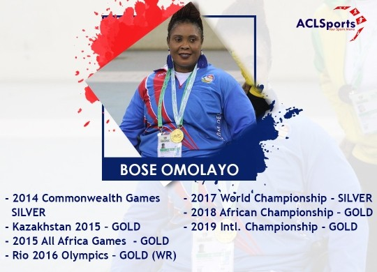 Olympic Gold medalist, Bose Omolayo bares it all