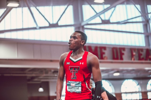 Oduduru voted best track athlete in USTFCCC & Big 12 awards