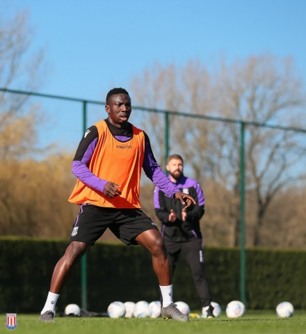 Etebo boost for Stoke ahead Derby clash