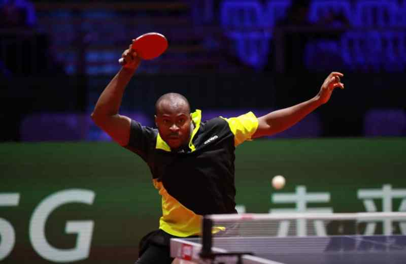 2019 ITTF World C'Ships: Aruna Quadri edges past Nima Alamian