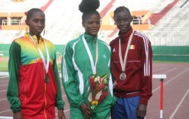 Nigeria bags 32 medals and 3rd place at CAA Championships